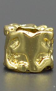 DIY beaded armbånd halskæde tilbehør vakuum plating 18k gyldne sol måne stjerne mønster lampwork perler hac0041