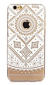 """retro flower malt mønster hard plast tilbake bukt for iphone6plus / 6splus 5,5 """""""