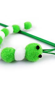 Gatos Brinquedos Brinquedo de Provocação Inseto Plástico Branco / Rosa