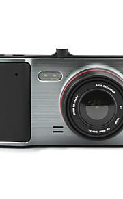 "GT1000 Universal 4.0"" Big Screen brushed metal Car DVR 1080P Night Vision 30ms 170°G-Sensor recorder"