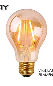 1 stk. GMY E26 2W 2 COB ≥180 lm Varm hvit A60(A19) edison Vintage LED-glødepærer AC 110-130 V