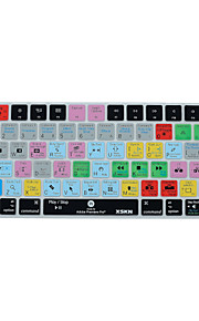 XSKN Adobe Premiere Pro cc kortkommandot täcka silikonhölje för magiska tangentbord 2015 version, oss layout
