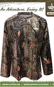 Tree Camouflage Long Sleeve T-shirt