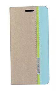 caso retro de la moda de cuero de lujo del tirón soporte de la carpeta para el asus zenfone ir (zc500tg)