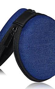 armazenamento mini fone de ouvido bolsa bolso / moeda para o fone de ouvido