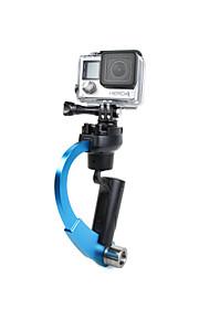 Handheld Stabilizer Steady Steadycam Bow Shape for Sports Camera Gopro Hero HD 4 3+ 3 2 1 SJCAM SJ4000 xiaomi yi Monopod