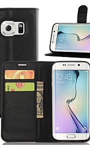 Per Samsung Galaxy Custodia A portafoglio / Porta-carte di credito / Con supporto / Con chiusura magnetica Custodia Integrale Custodia