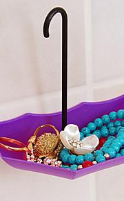 3stk paraplyen viskose fra søm væg krog form sømløs klæbrig krog