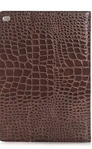 Fashion High Quality Slim Crocodile Leather Case For iPad Pro Smart Cover With Stand Alligator Pattern Case