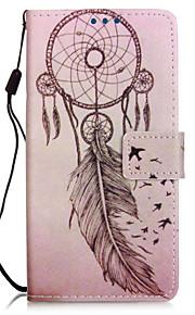 vindspil elskere pu mobiltelefon hylster med kort slot til lg K7