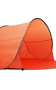 Portable 2-3 Person Auto Pop Up Outdoor Comping Beach Sun Shade Tent