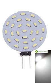 1 stk. SENCART G4 3W 27 SMD 3014 300-380 lm Varm hvit / Kjølig hvit MR11 Dekorativ LED-spotpærer DC 12 / AC 12 V