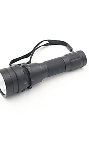 LED Flashlights/Torch LED 2 Mode 1600 Lumens Waterproof Cree XM-L2 18650Camping/Hiking/Caving / Diving/Boating / Cycling