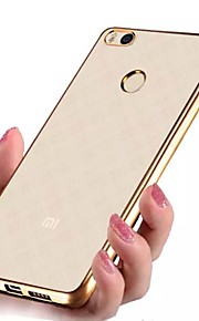 ASLING TPU Ultra Transparent Soft Case with Electroplated Edge for XIAOMI 4S