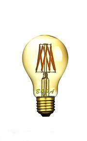 1個 NO E26 / E26/E27 6W 8 COB 200-500 lm 温白色 A60(A19) 明るさ調整 / 装飾用 LEDボール型電球 交流220から240 V