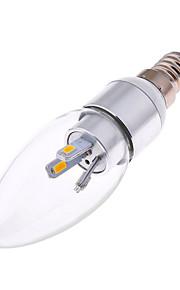 3W E14 LED-lysestakepærer AR111 6 SMD 5730 300 lm Varm hvit / Kjølig hvit Dekorativ AC 85-265 V 1 stk.
