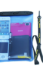 Waterproof PVC Material Dry Box for iphone/Samsung and other Cell Phone 25*20*5 (Random Colors)