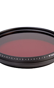 fotga® alt-i-én justerbar 530 nm-750 nm infrarøde ir pass røntgen linse filter 82mm