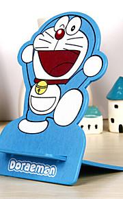 블루 고양이 패턴은 아이폰 / 삼성 및 다른 휴대 전화에 대한 홀더를 장착