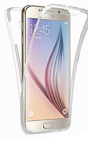 retro cassa del telefono TPU all-inclusive fronte Shell per Samsung S7 / S5 / S6 / S6 bordo / bordo S7 / bordo S6 + (colori assortiti)