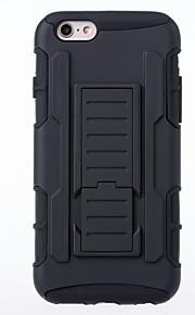 군사 미래의 갑옷 하이브리드 중장비 3 아이폰 1 콤보 트리플 전체 스탠드 커버 케이스 6 / 6S / 6 플러스 / 6S 플러스