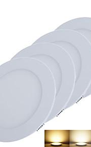 3W Panellys 15pcs SMD 2835 220-260lm lm Varm hvit / Kjølig hvit / Naturlig hvit Dekorativ DC 12 V 4 stk.