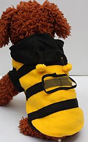 Cães Casacos Amarelo Inverno / Primavera/Outono Clássico Fashion-Lovoyager
