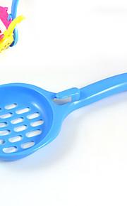nieuwe heet verkoop huisdier schoonmaakproducten plastic schop kleine kat shovel hangen bassin kitten shovel