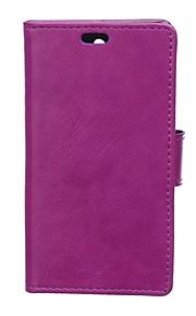 estilo de la carpeta cubierta de la tapa con la ranura para tarjeta para el caso de Nokia 950 caso de la manera textura caballo loco