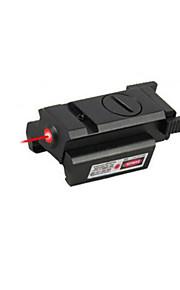 Lommelygte Formet - Rød Laserpointer - Aluminium Legering