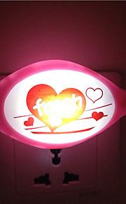 creatieve warm witte vis lichtsensor met betrekking tot kindje slaap 's nachts licht (willekeurige kleur)