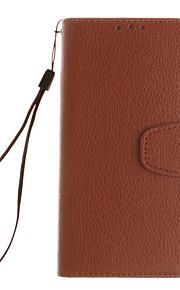 エンボス加工革の財布は、サムスンのために開いたまま銀河S7 / s7edge / S6 / s6edge / S5 / s5mini(アソートカラー)