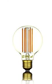 E26 E27 220V G80 2200K-2700K 300-500lm 6W 6LED Light Bulb Edison