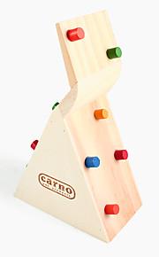 hamster klatring hus træ legetøj, legetøj hus aktiviteter, 1 stk