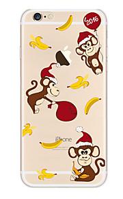 Kakashi litt frisk serie tpu maleri myk sak for iPhone 6s / 6/6-ere pluss / 6 pluss (ape)
