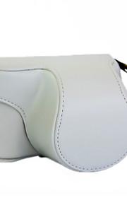 Digital Kamera-Väska- tillSony-En-axel- medDammsäker-Vit / Svart / Rosa / Kaffe / Brun