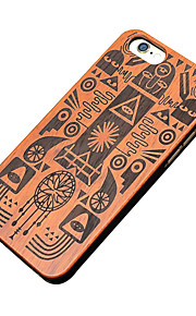 Ultra Thin Wooden Egyptian Pharaoh Protective Back Cover Hard iPhone PC Case for iPhone 6s Plus/6 Plus/iPhone 6s/6