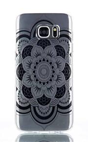 cassa del telefono pieno fiore modello materiale TPU per Galaxy S4 / s4mini / S6 / S6 bordo / bordo S6 plus / S7 / bordo s7