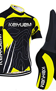 KEIYUEM®Others Unisex Short Sleeve Spring / Summer / Mountain Bike Cycling Clothing Bib Suits/ Breathable Quick Dry#24