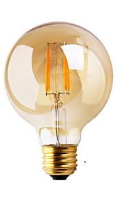 1 stk. GMY E26/E27 2W 2 COB ≥180 lm Varm hvit G80 edison Vintage LED-glødepærer AC 220-240 V