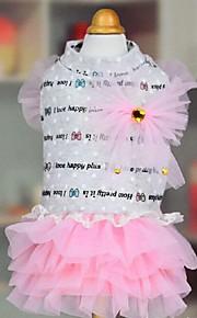 犬用品 ドレス グリーン / ピンク 夏 / 春/秋 クラシック / アニマル 結婚式 / クリスマス / バレンタインデー / ファッション-Lovoyager