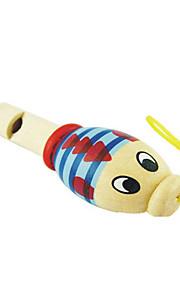 madeira apito animais criança aleatória para crianças acima de entrega aleatória 3 instrumentos de brinquedo musical