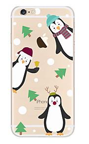 Kakashi litt frisk serie tpu maleri myk sak for iPhone 6s / 6/6-ere pluss / 6 pluss (Christmas Party)