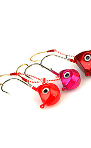 1pcs Metal Bait Jig Head 80g Sinking Fishing Lure Assorted Colors