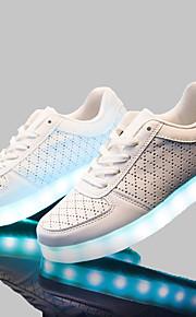 Sapatos Masculinos - Tênis Social - Branco - Courino - Escritório & Trabalho / Casual / Para Esporte