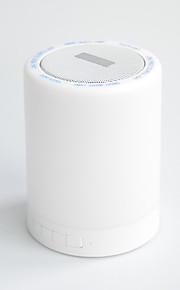x6 u.sure בתוספת Bluetooth האלחוטית מנורת אווירה + הובילה רמקול סטריאו עם מערכת בקרת מגע, כרטיס TF הקורא