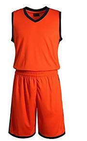 Klädesset/Kostymer(Vit / Blå / Orange) -Barns-Leisure Sports / Badminton / Basket / Löpning-Ärmlös-Andningsfunktion / Snabb tork / wicking