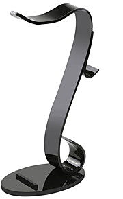 MOCREO Headphone Hanger Multifunctional Holder for Headphone / Cellphone / iPad / Watch - black