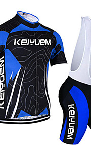 KEIYUEM®Others Short Sleeve Spring / Summer / Mountain Bike Cycling Clothing Bib Suits for Men/Women/ Breathable#27