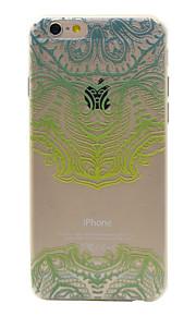 TPU padrão de máscara de telefone verde material para 6s iphone plus / 6 plus / 6s / 6